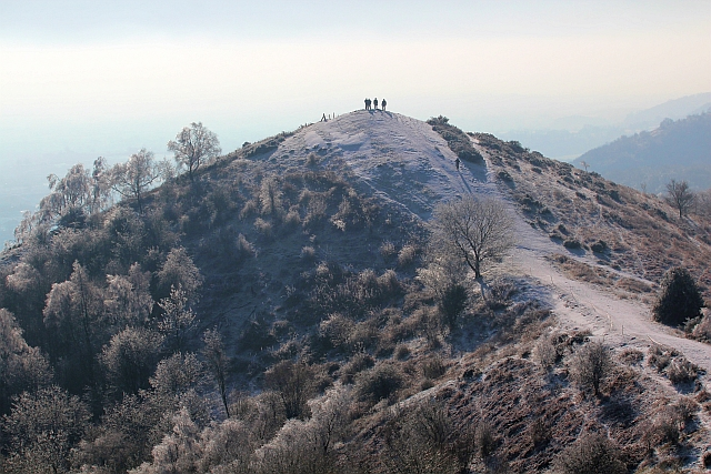 Black Hill in the ice