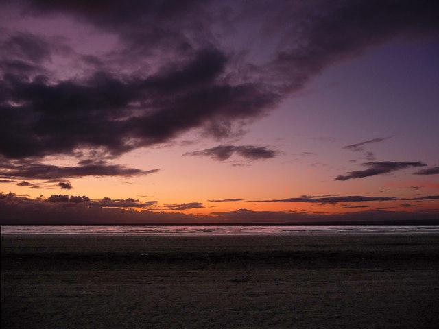 Berrow - Sunset