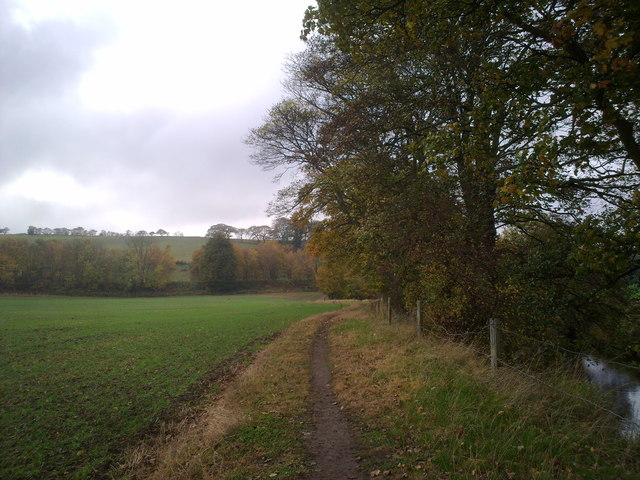 Path along the Browney