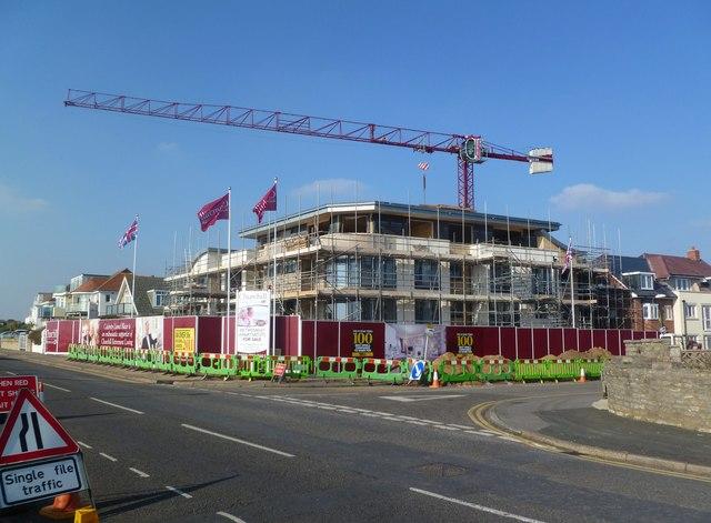 Southbourne, building site