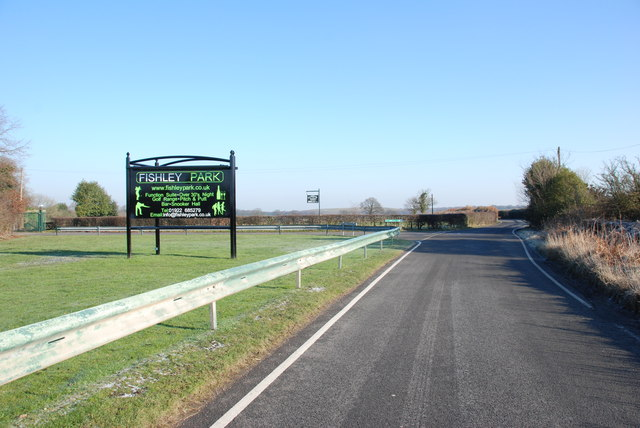 Entrance to Fishley Park Complex