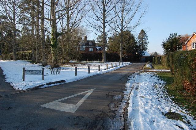 Slip Mill road, Hawkhurst