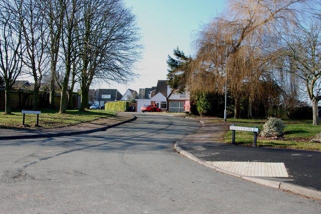 Berryfields Estate off Cartersfield Lane