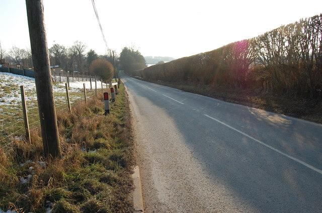 Bedgebury Road (B2079) towards the A21