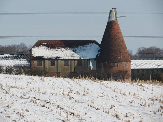 Oast House at Brook Lodge Farm, Brede Lane, Brede