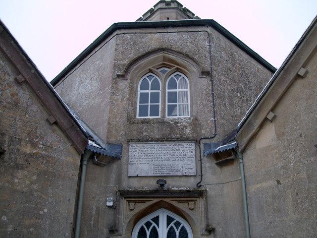 Dedication plaque, School House, Thicketts Road, Mildenhall