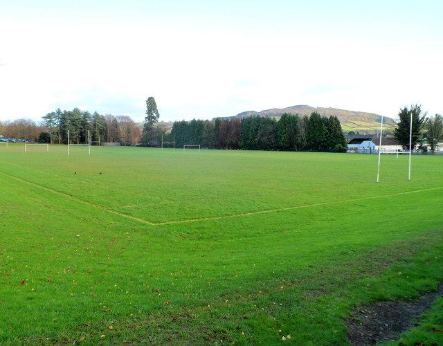 Sports ground, King Henry VIII school, Abergavenny