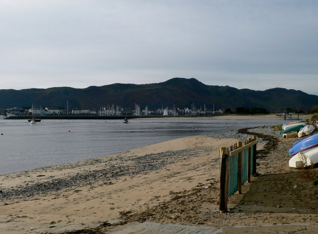 Looking across the Conwy estuary from Deganwy