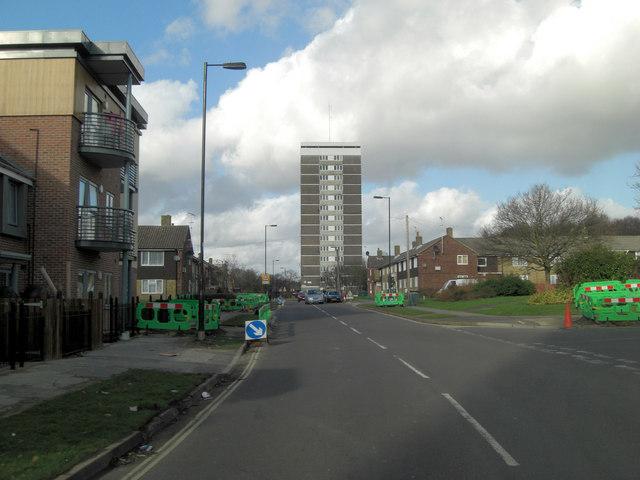 Warburton Road southern end
