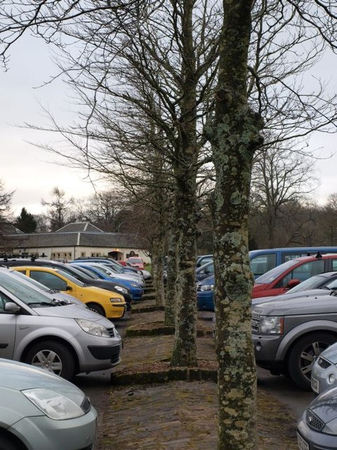 Calderglen Country Park car park