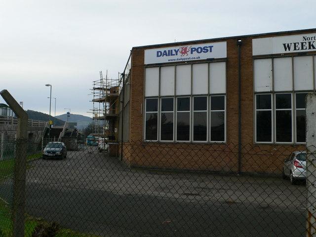 Daily Post & North Wales Weekly News offices, Llandudno Junction