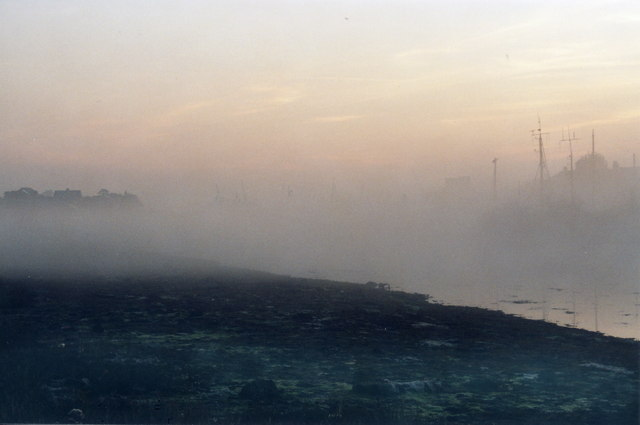 Morning Mist on the Lake 2