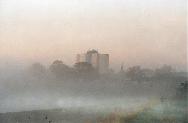 Morning Mist on the Lake 5