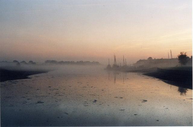 Morning Mist on the Lake 11