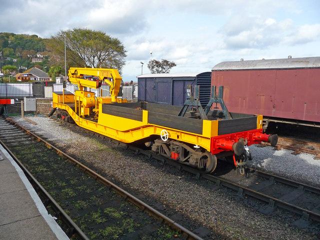 Minehead - Crane On Rails