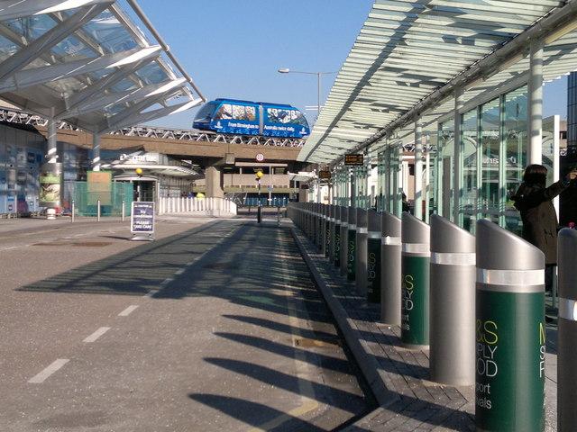 Air-Rail Link at Birmingham International Airport