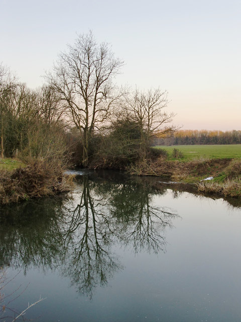A pool along the course of the River Mole