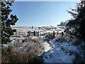 ST2496 : Gateway onto open moorland below Mynydd Maen by Jeremy Bolwell