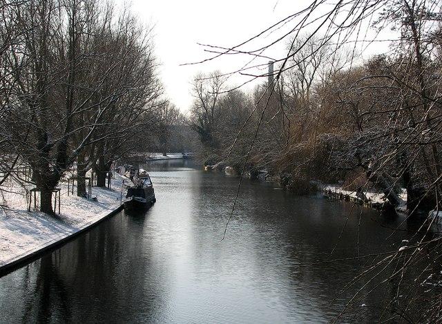 Chesterton: the Cam in winter