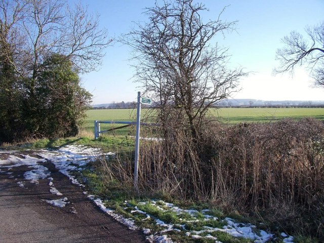 Footpath to Twyford
