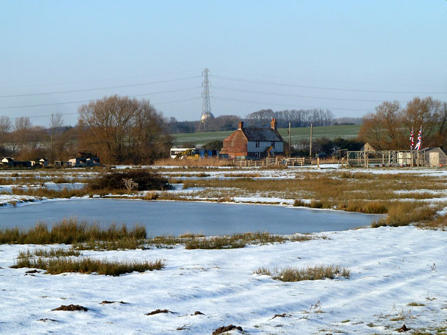 Across the frozen wastes to Marsh Foot Farm