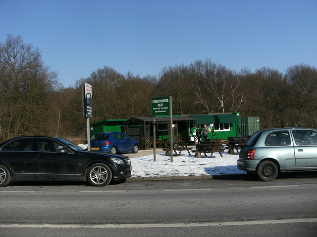 Forest Corner Cafe on the A616