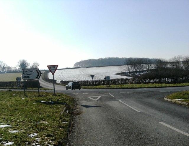 Park Lane meets the A616