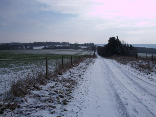 Roman road to Mildenhall