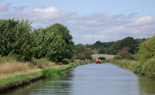 Shropshire Union Canal near Gnosall Heath, Staffordshire