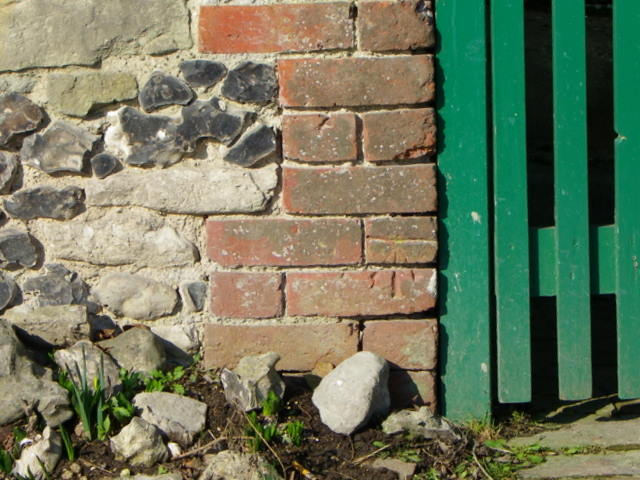 Bench Mark, No 1 Thatched Cottages