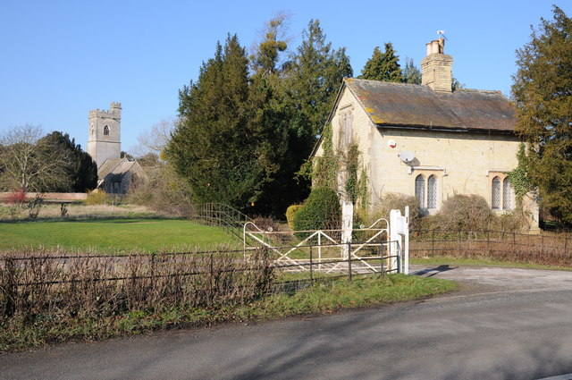 Lodge and Whitminster church