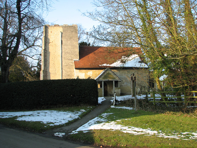 The church of All Saints and St Margaret, Chattisham