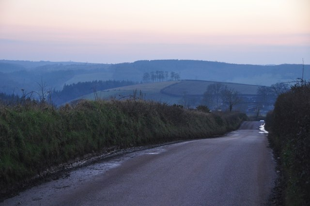 Mid Devon : B3042 Road