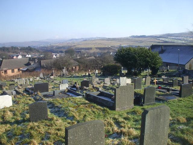 Graveyard, St Mary's, Brynmawr