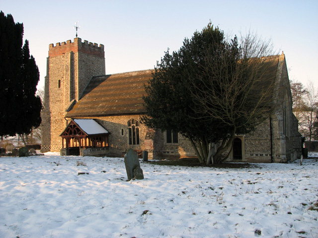St Mary's church in Washbrook