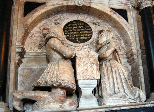 Campion Memorial, St Mary's church, Goudhurst