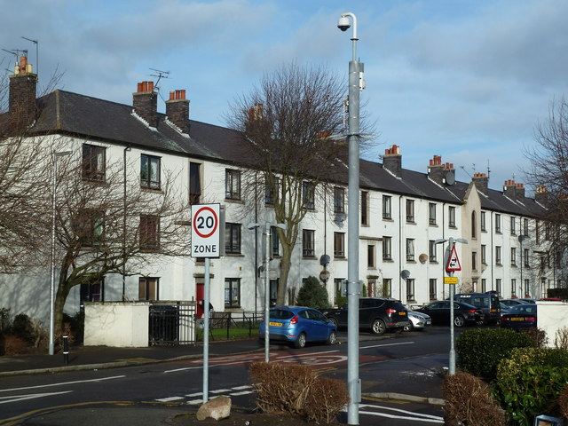 Council flats, Froghall Avenue, Aberdeen