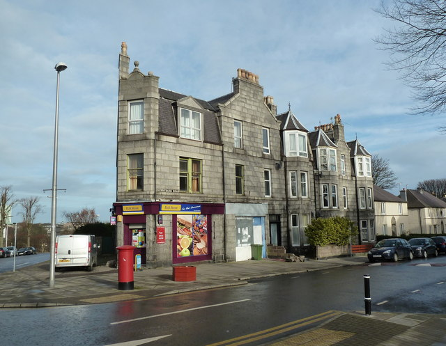 Corner shop, Aberdeen style
