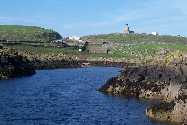 Isle Of May: Approach To Kirkhaven Quay