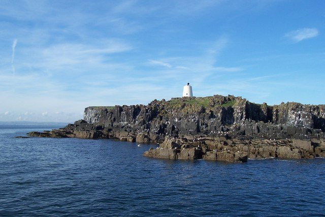 Isle Of May: The South Horn From The Sea