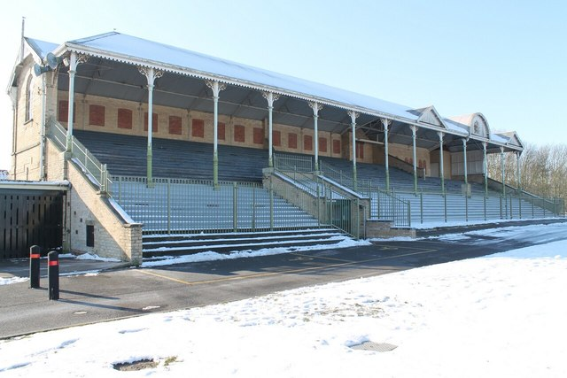 Grandstand of old Racecourse, Lincoln