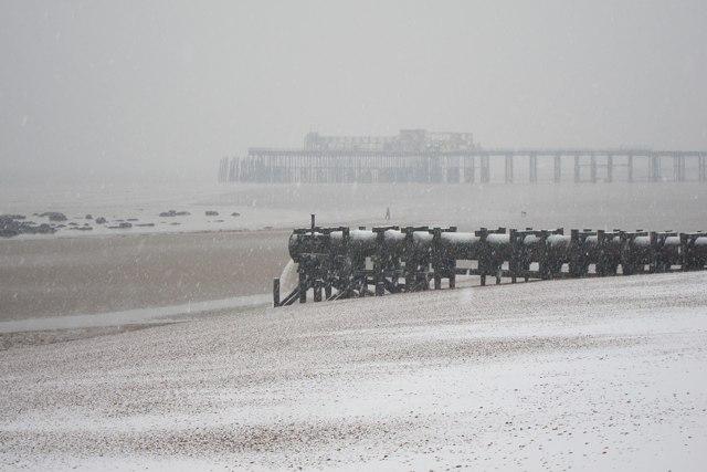 Pelham Beach outfall