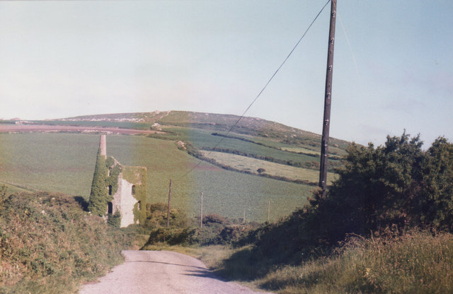 Near Trencrom Hill 1985