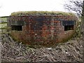 NZ0870 : Pillbox, north of Ouston airfield by Andrew Curtis