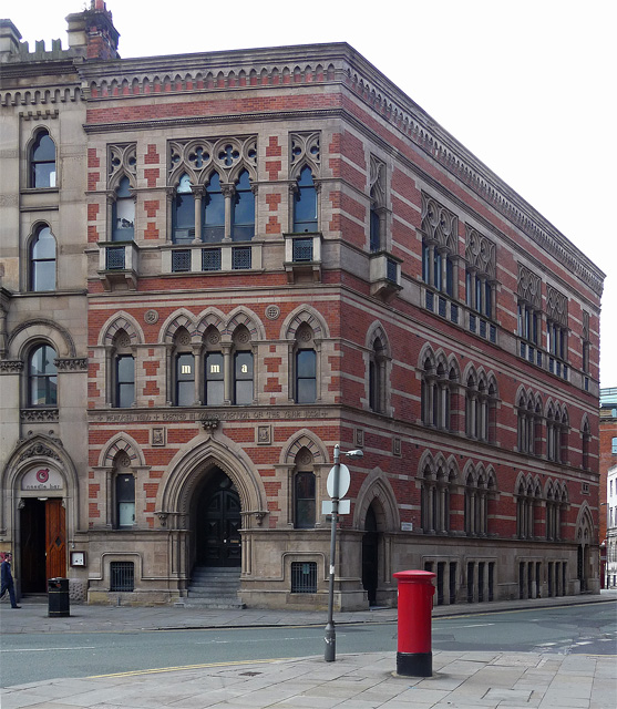 Memorial Hall, Albert Square, Manchester