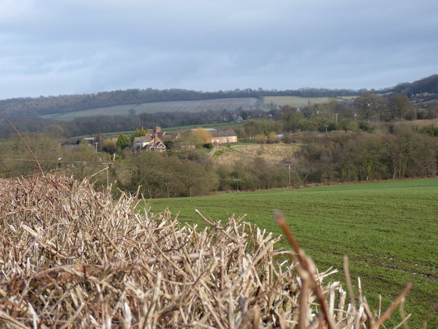Towards Wigwig from the lane