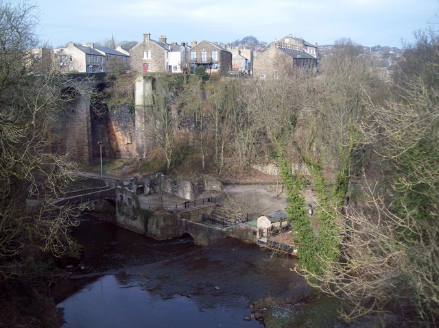 The Torrs viewed from Queen's Bridge