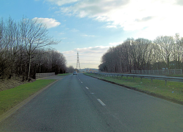 A4074 crosses the Henley Road link