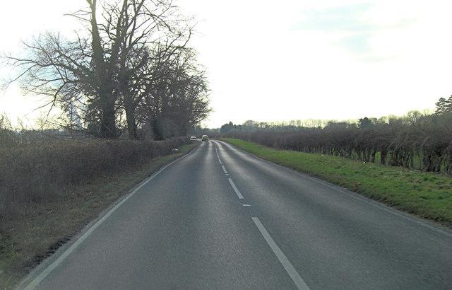 B4015 northwest of Clifton Hampden