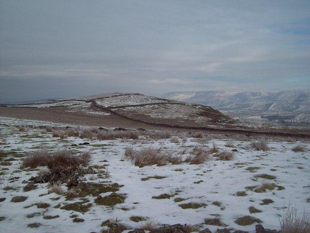 Access Moorland near The Chinley Churn